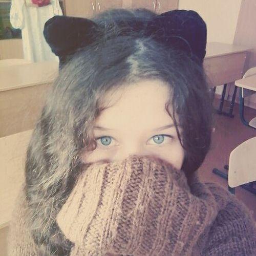 я Котик С ушками милашка ня мимими 😚