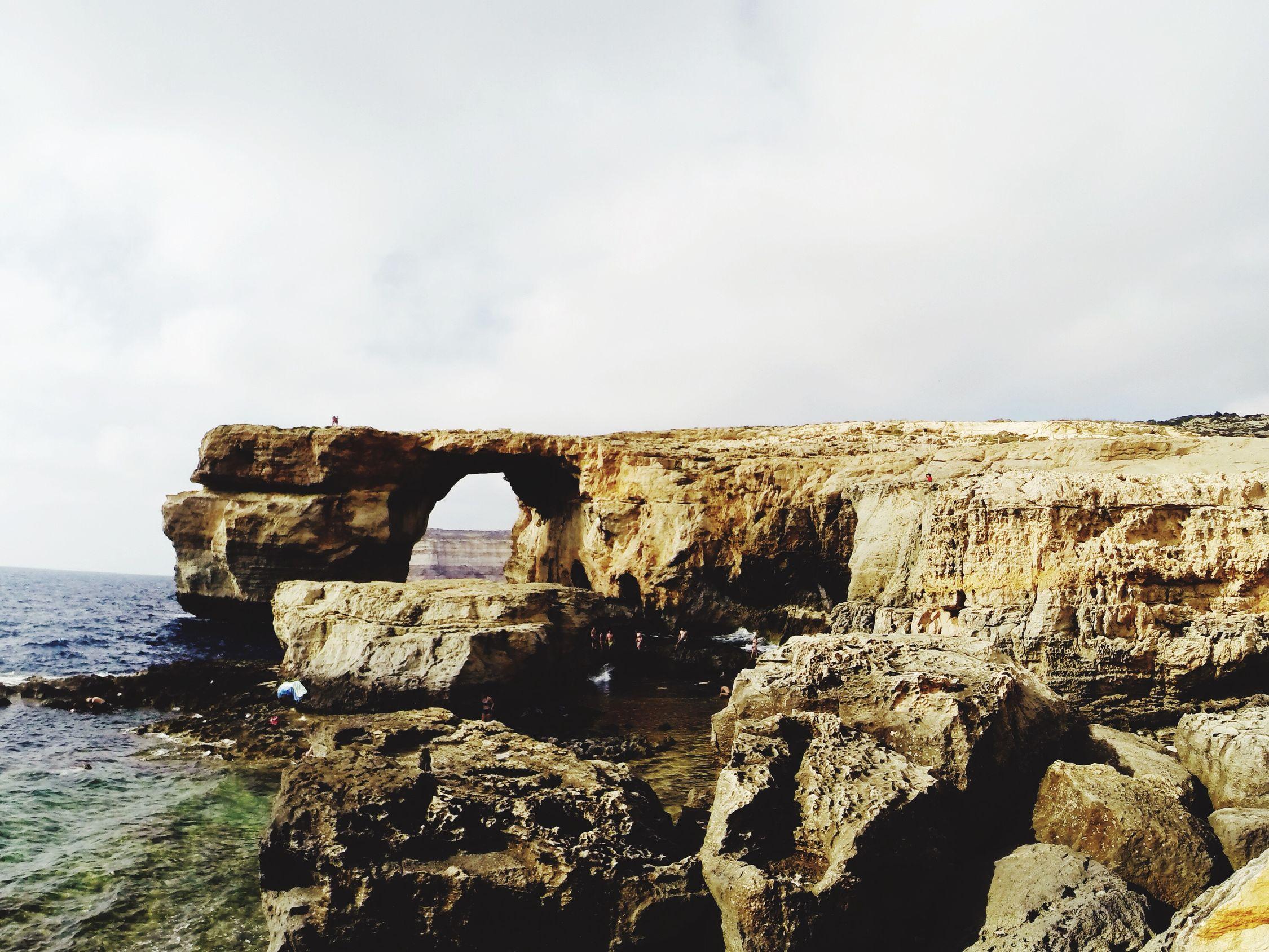 Gozo The Azure Window Blue Hole Holiday At Gozo