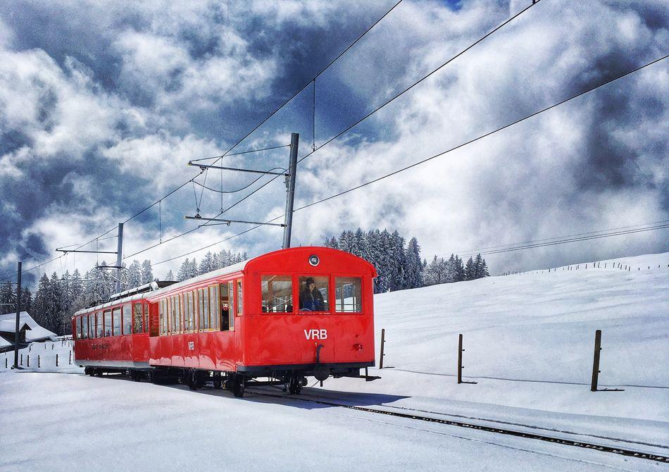 Mountain train Switzerland