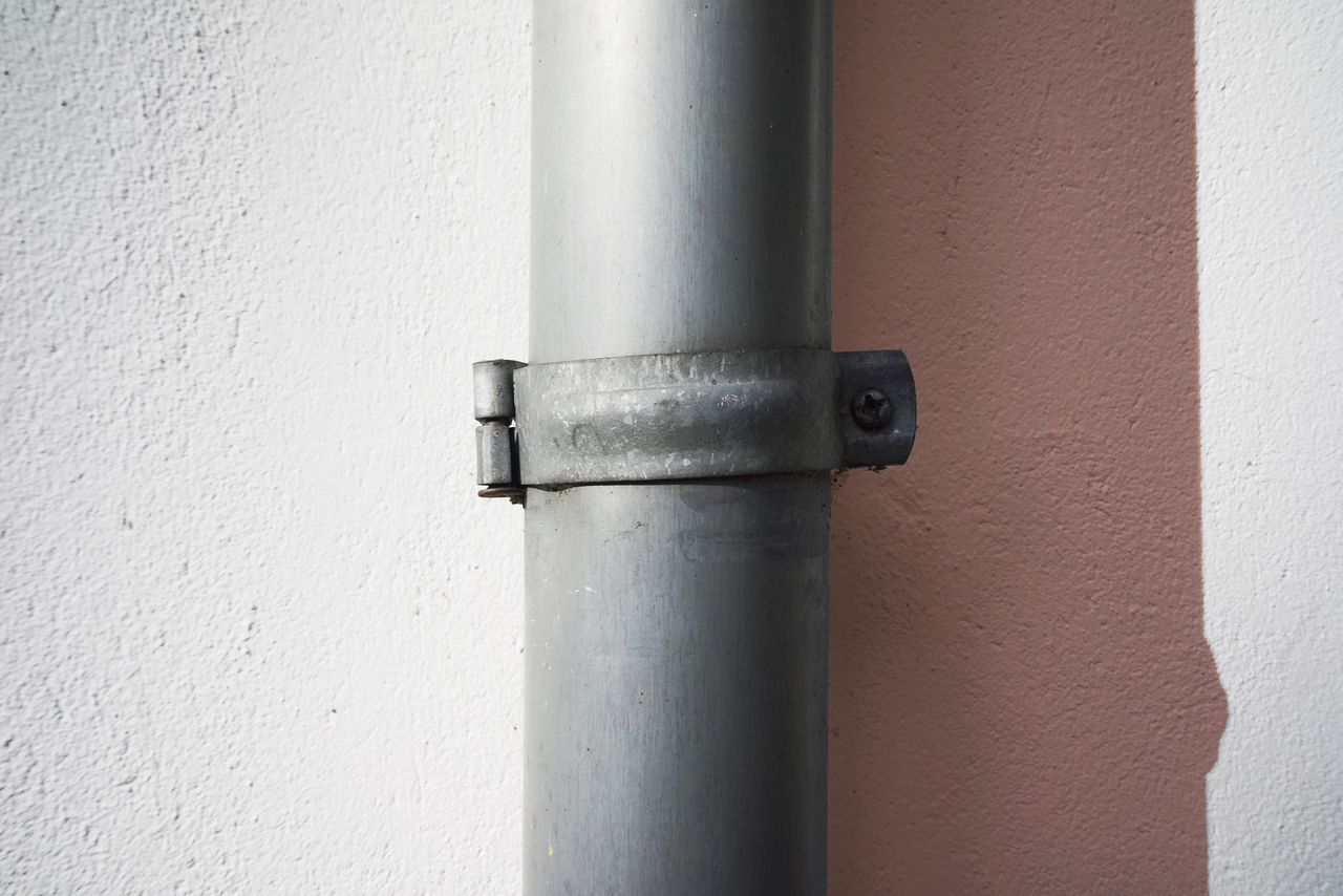 Pipe - Tube Metal No People Built Structure Close-up Outdoors Day Architecture