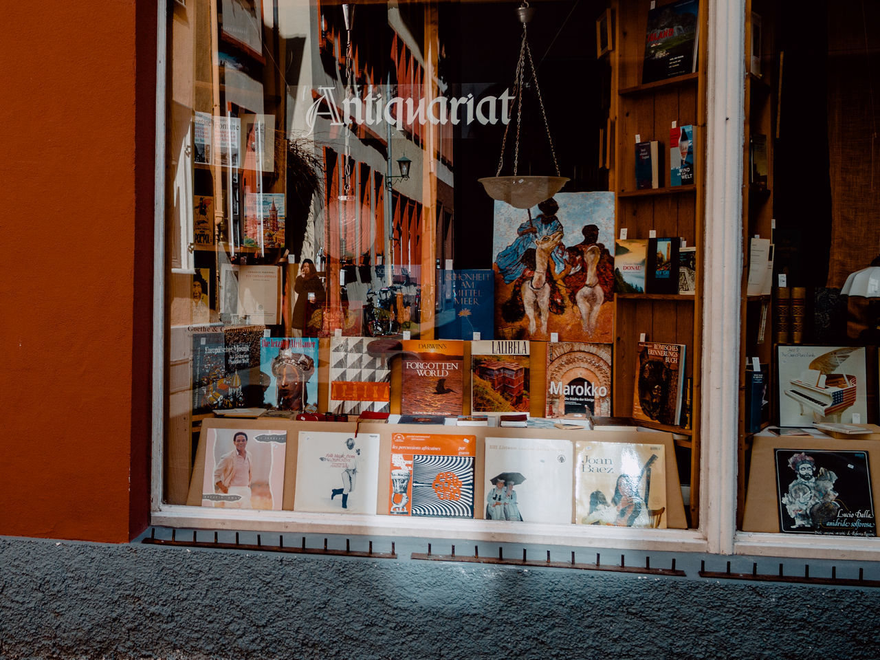 Antique Atmospheric Mood Book Store Books Heidelberg Hidden People No People Old Books Old Town Shop Street Streetphotography