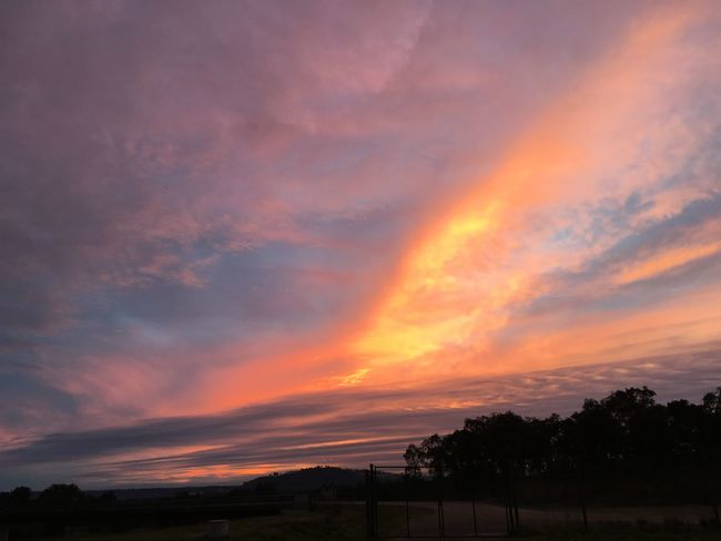 Winter, end of the day... Portugal Europe Exploring Sky Sunset_collection Abrantes