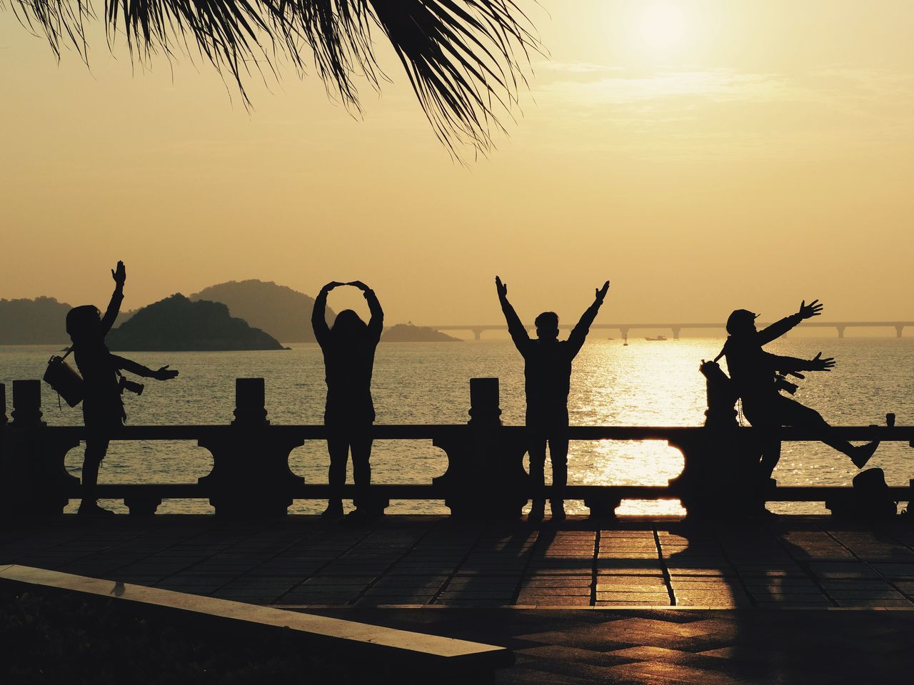 """LOVE""... Silhouette Lifestyles Men Water Real People Sea Mountain Nature Standing Outdoors Scenics Beauty In Nature Sky One Person People Day Reflection Love Sunlight Sunset_collection Sunrise Zhuhai Sunrise Silhouette China Enjoy last Moment Sunrise of 2016 ""ThankYou All for Showing Love for Photography and sharings each Inpiring Photos! We Continue to Share Love for 2017."""