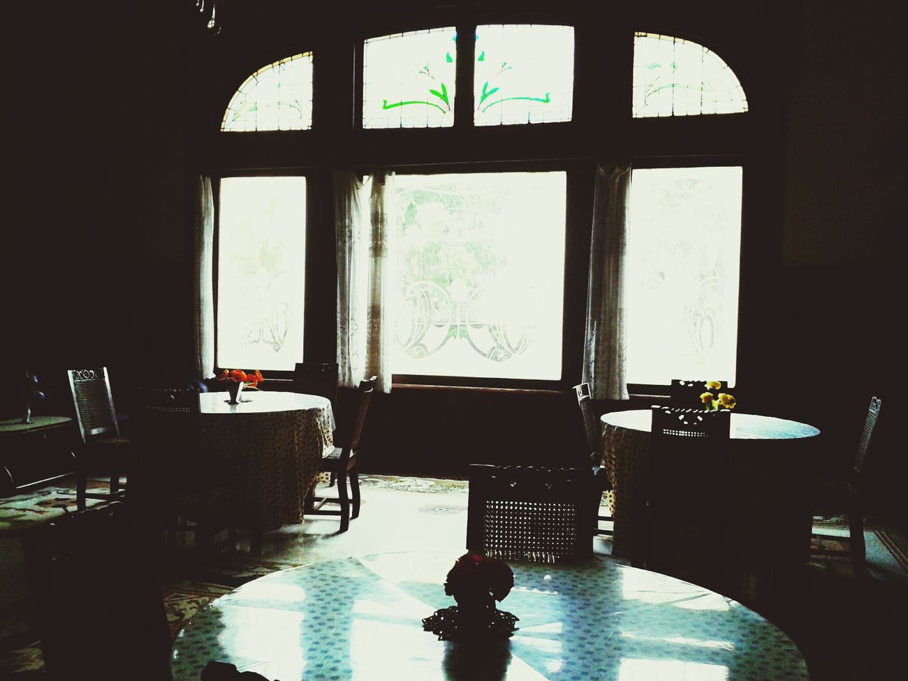 Dining room in Niagara Hotel, Malang, East Java. Heritagebuilding Indonesia_allshots Travel Photography