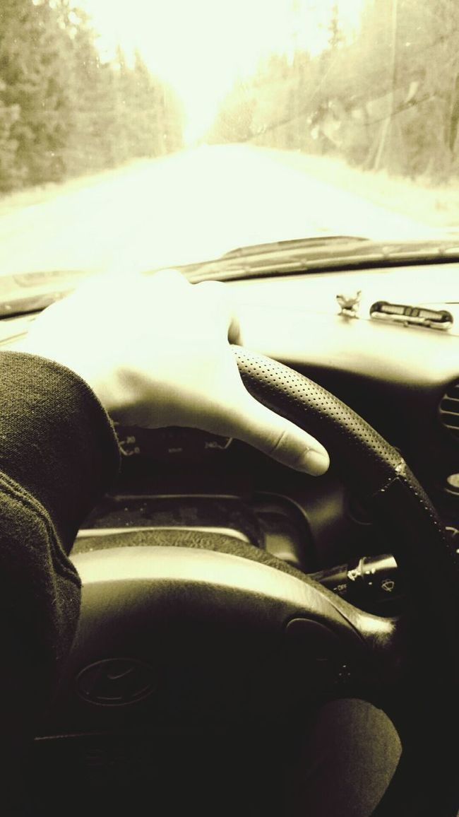 Driving my coupe