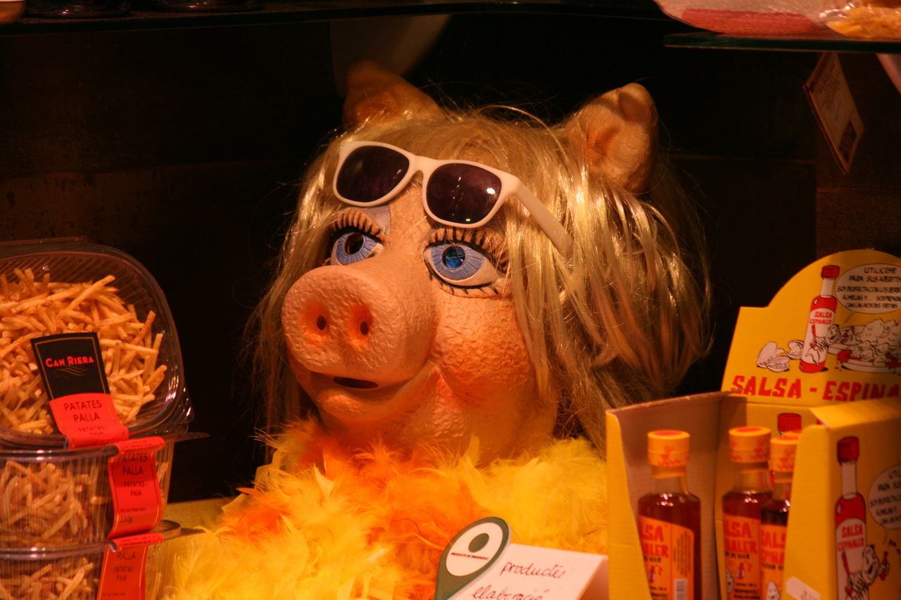 Butchery From My Point Of View Miss Piggie Miss Piggy MissPiggy Porkchops Sunglasses Wig Wigs