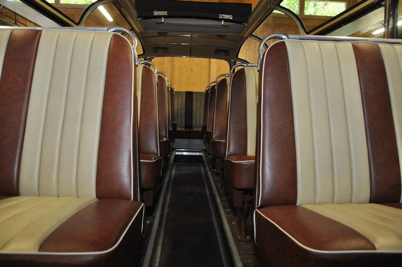 Bus Bus Interior Day Indoors  Interior No People Oldtimer Bus Oldtimer Bus Interior Rail Transportation Seat