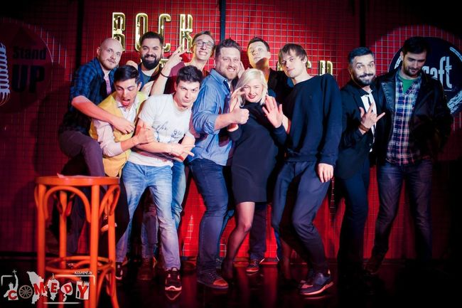 People Together Party Comedy Stand Up Moldova comedy Kishinew first stand up comedy