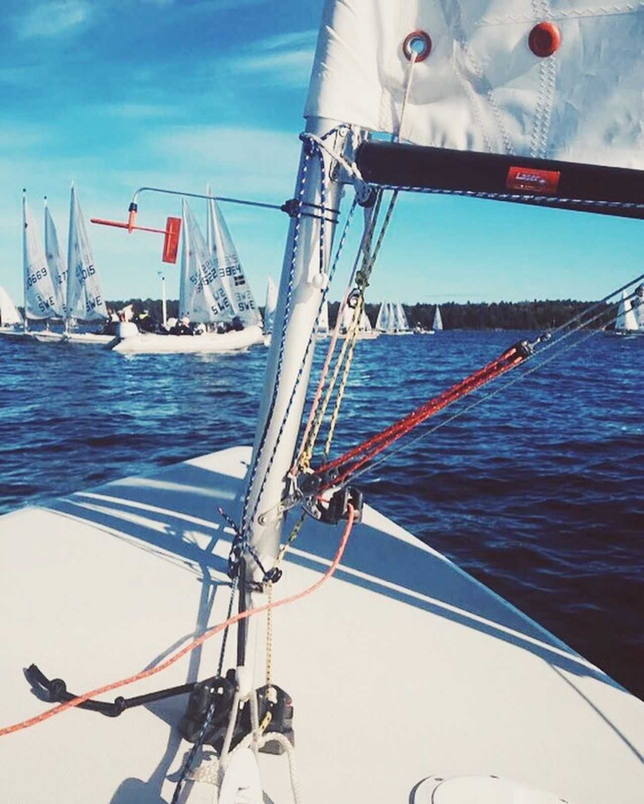 Water Sailing Sea Regatta