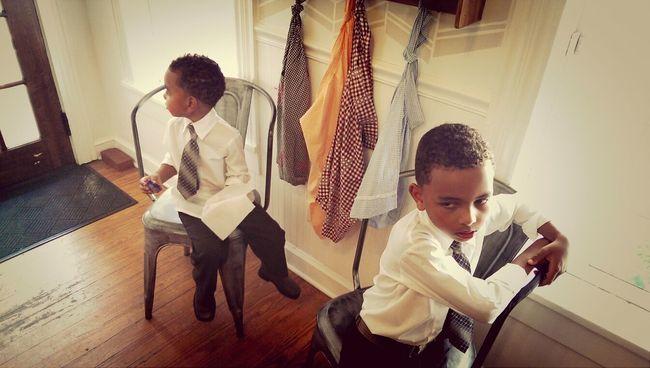 Nephew, times two.