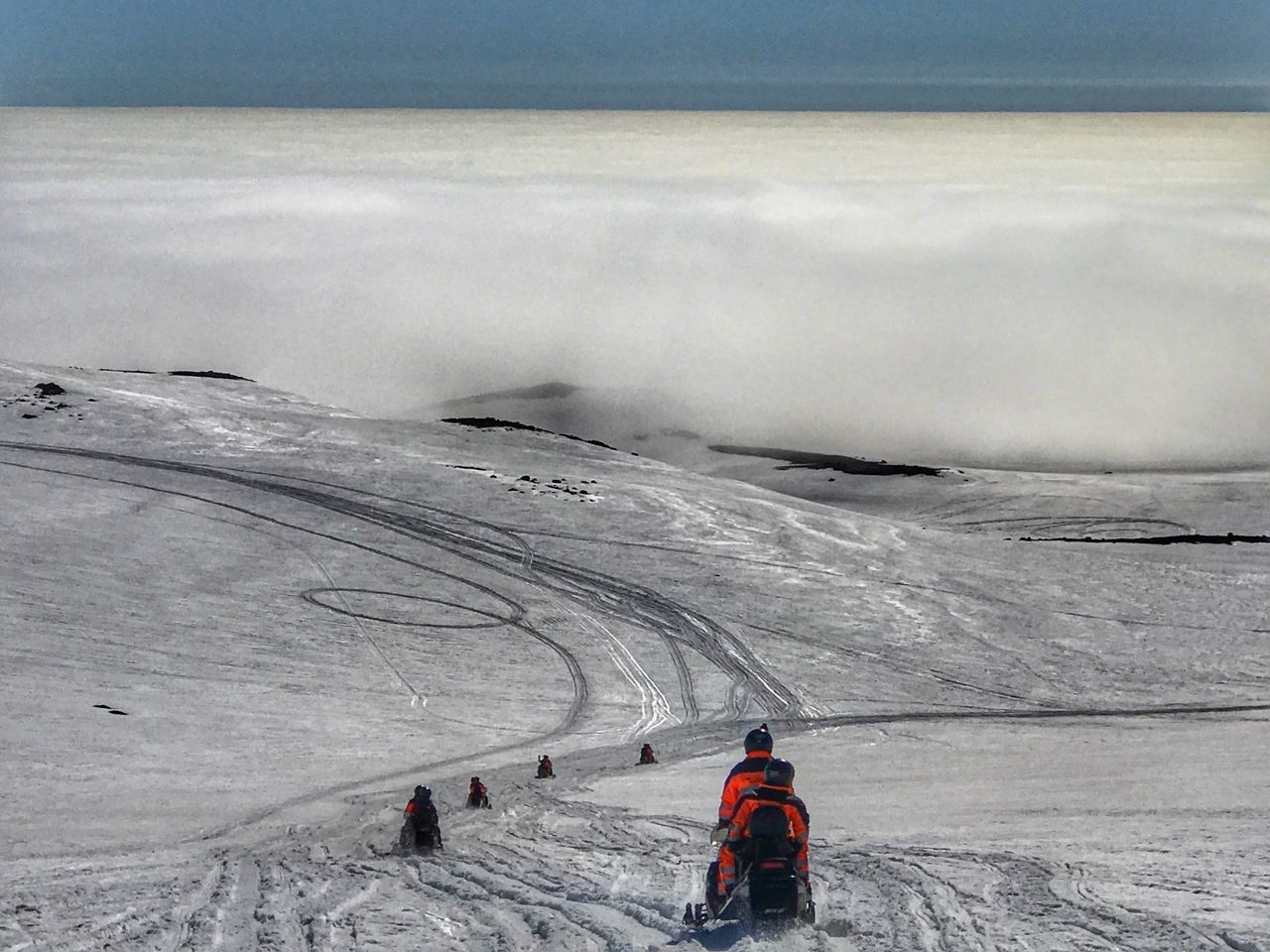We go to the cloud BYOPaper! Winter Snow Cold Temperature Adventure Real People Nature Leisure Activity Beauty In Nature Weather Unrecognizable Person Scenics Lifestyles Snowcapped Mountain Day Frozen Vacations Mountain Tranquility Outdoors Landscape Arcanum
