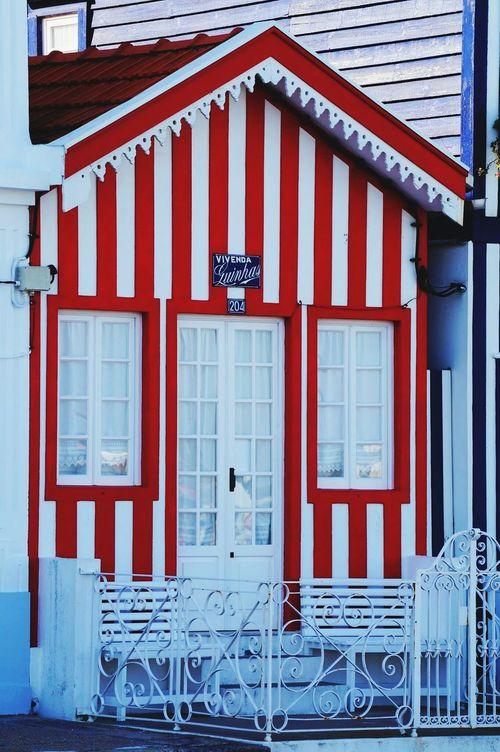 Praia Da Costa Nova Portugal House Vivenda