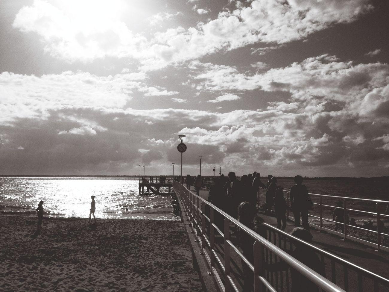 Port Beach Black & White Summer