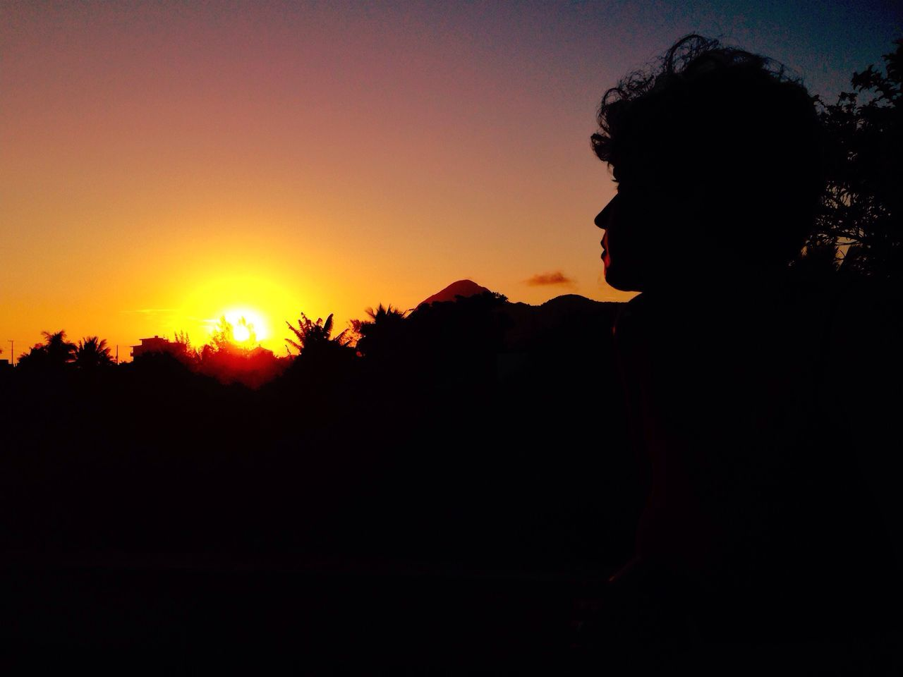 Portrait Of A Friend Sky Collection Landscape_Collection Sunset Silhouettes Light And Shadow Sunset_collection Silhouette Tadaa Community Creative Light And Shadow