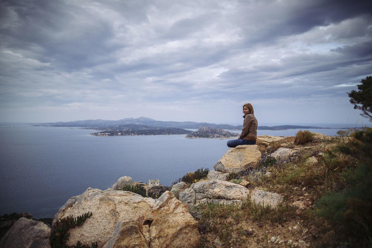 Beautiful stock photos of italien, cloud - sky, sky, sea, scenics