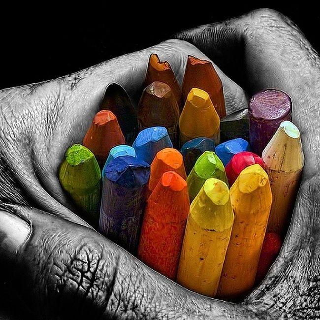 Colour Picturoftheday Photo Colori Instagram Instant Mano Vita Disegnare Paint