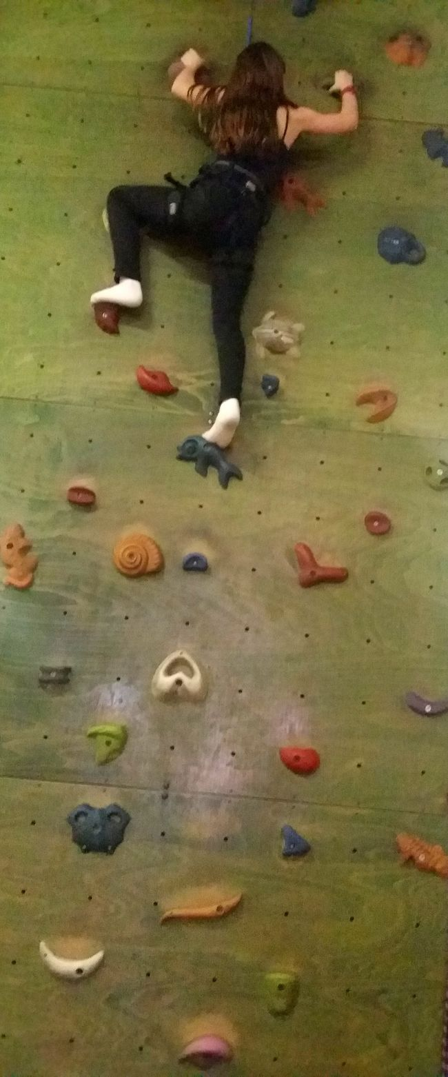 Black Child Clever Climbing Wall Green Wall Movement Multi Colored Sport Sports Strong Up High White Shoes