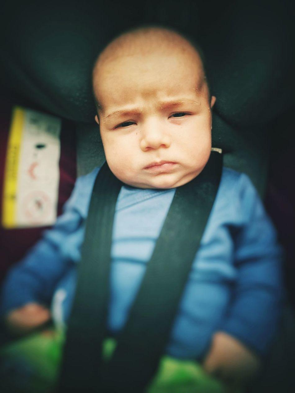 Sad Baby Unhappy Baby Sad Baby Boy