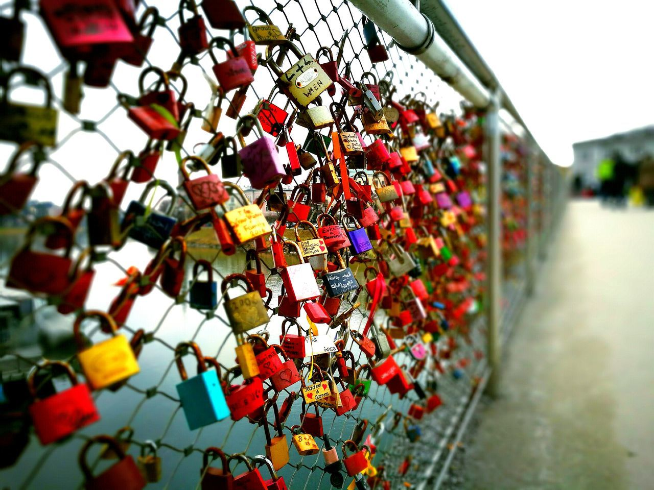 Love Locks Bridge Close-up Hope - Concept Love No People EyeEmNewHere Long Goodbye