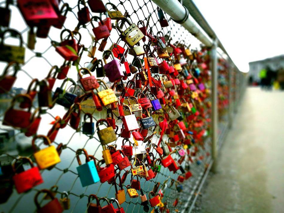 Love Locks Bridge Close-up Hope - Concept Love No People EyeEmNewHere Long Goodbye