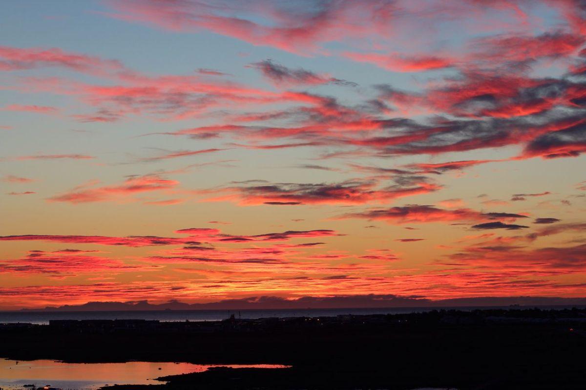 Midnight sunsets in Iceland. Sunset Iceland First Eyeem Photo