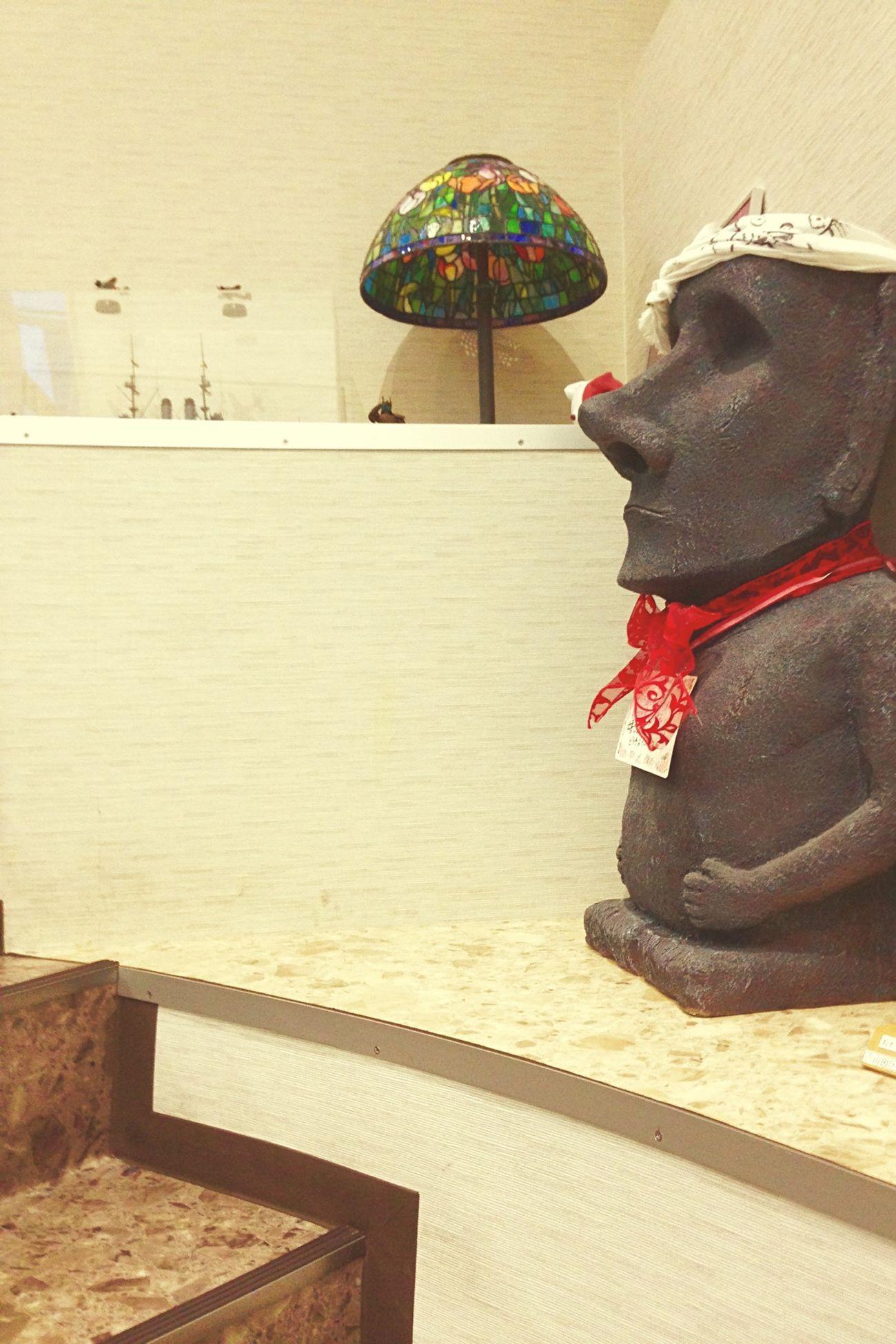 南米イースター島 モアイ像 皆んなを Happiness ♡ Human Face Stone Statue 家に飾ろうかな🗿✨
