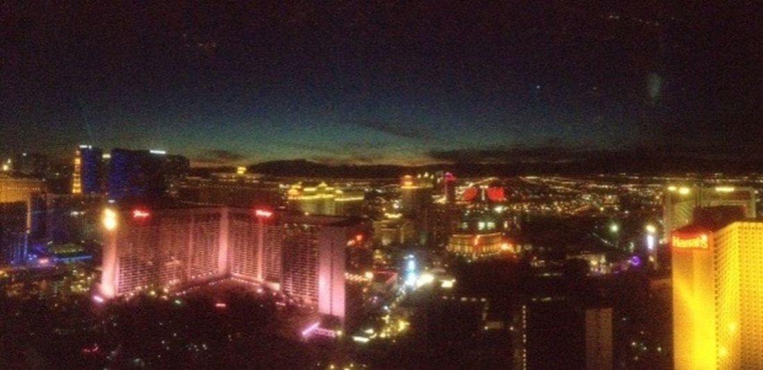 Aerial Shot Las Vegas Viva Las Vegas Last December View Landscape Vegas  Travel Amazing View City