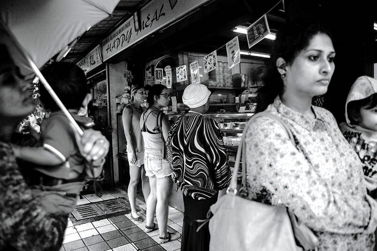 Focus Malaysia PetalingStreet Asiapictures Women Blackandwhite