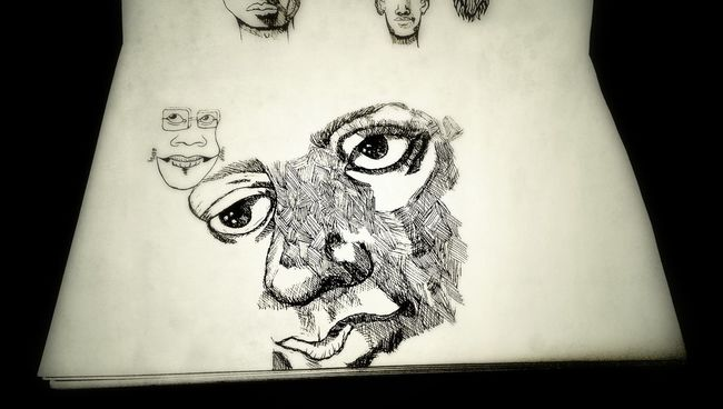 More to draw Sketch Hand Drawing Black And White Portrait The Tree Academy
