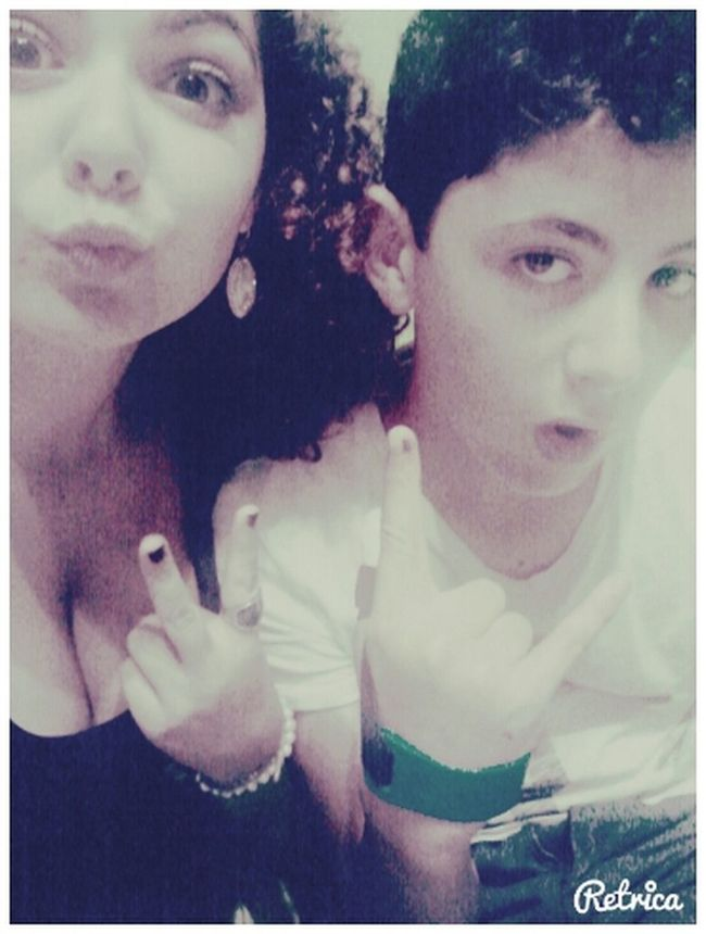 Lucaaas ♥ Moncoeur Handicapé Bro' Love kiss