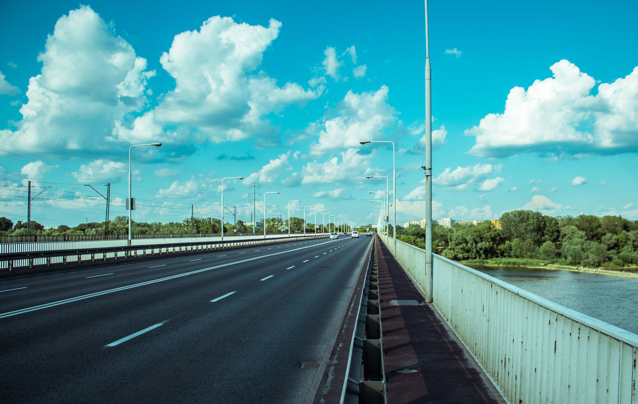 Straight Amaizng Amazing Green Color Like Road Roadtrip Sky Sky And Clouds Warsaw