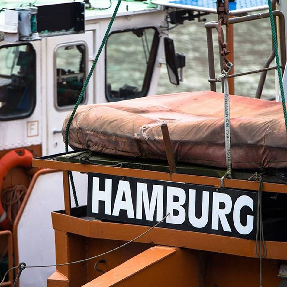 Hamburg ❤ Harbour City Town Hamburg Igershamburg Igersgermany Instahamburg Boat Water Sky Clouds Hamburgmeineperle Fishing Fish Blue Intotheblue  Deinhamburg Meineperle Germany Town Water Hh Traveling Travel