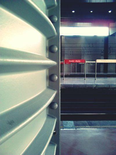 Madrid Train Public Transportation