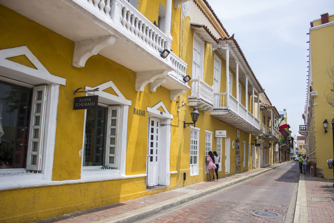 Architecture Building Exterior Built Structure Cartagena Cartagena Colombia Cartagena De Indias Cartagena Se Transforma Cartagena, Colombia Cartagenadeindias City City Street Day No People Outdoors Road Store Street Travel Travel Destinations Urban Road