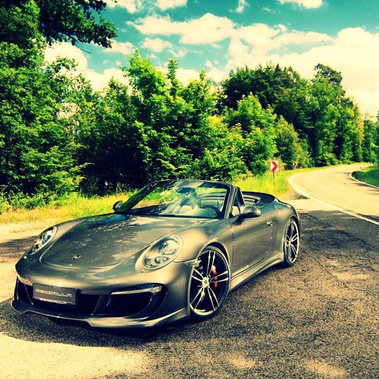 Porsche Street Effect Processgreen Greatwork