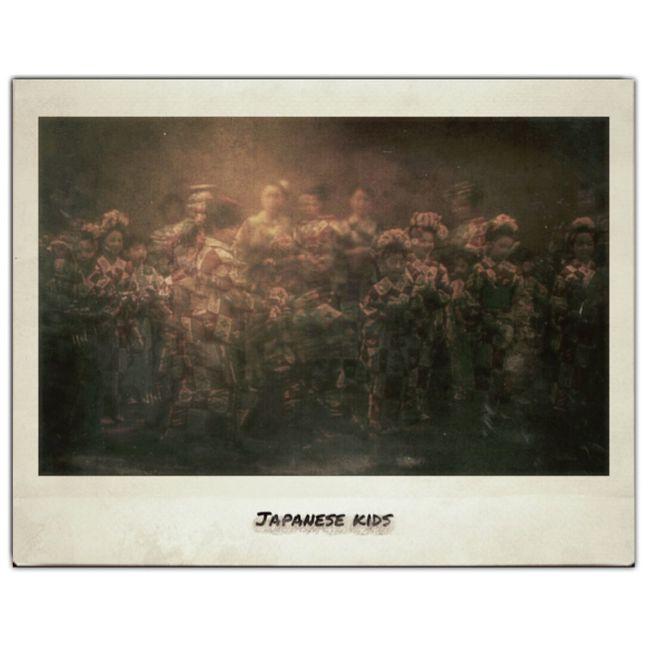 Painterly Beatiful Japanesque Fake Pola Polaroid ✨👘✨