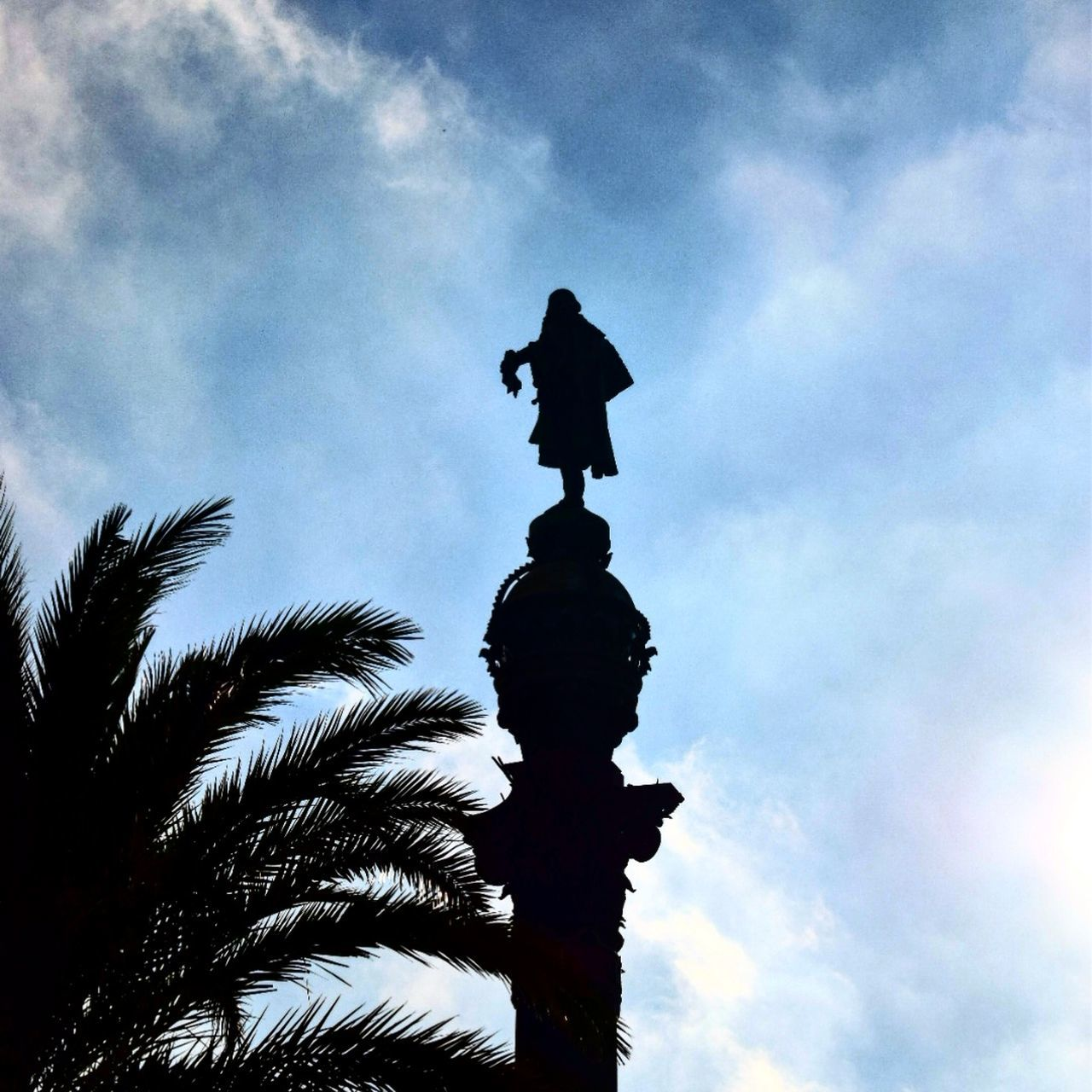 Columbus statue. Columbus Christopher Columbus Statue Sculpture Monument Silhouette Sky Outdoors Clouds Clouds And Sky Clouds & Sky Sky And Clouds Sky & Clouds Eyeem Silhouette EyeEm Silouette Best Pics Clouds Collection Sky_collection Barcelona Catalonia EyeEm Gallery Eyeem Christmas EyeEm Best Edits EyeEm Pictures EyeEm Best Shots EyeEm Best Pics