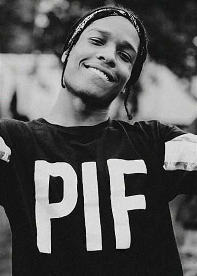 My Lord. ASAP ROCKY Baby Flvcko Pretty Inlove Perfection Smile Blackandwhite Proudofyou