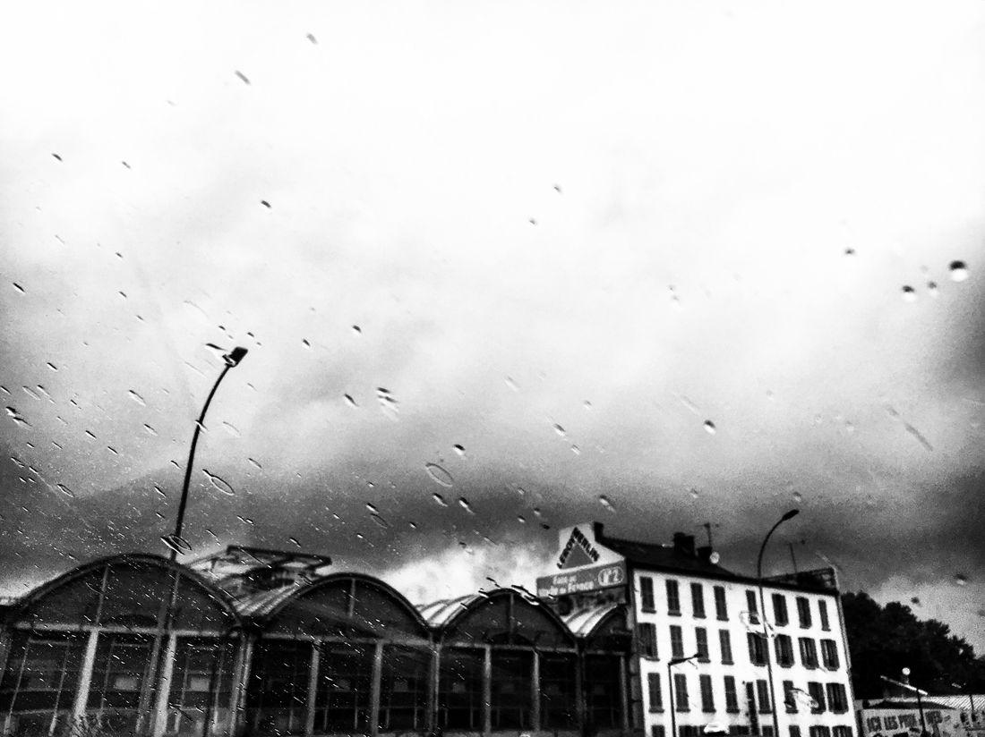 Factory Rain Cloudy Sky Rainy Day Shittyweather Drop Bnw_captures Bnw EyeEm Best Shots - Black + White Storm Blackandwhite Photography Mmaff From My Point Of View Eye4photography  EyeEm Gallery Taking Photos Hello World