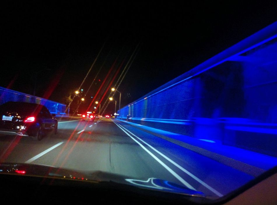Nightdriving Check This Out Riverdale TorontoLife Glowing Bridge Photography