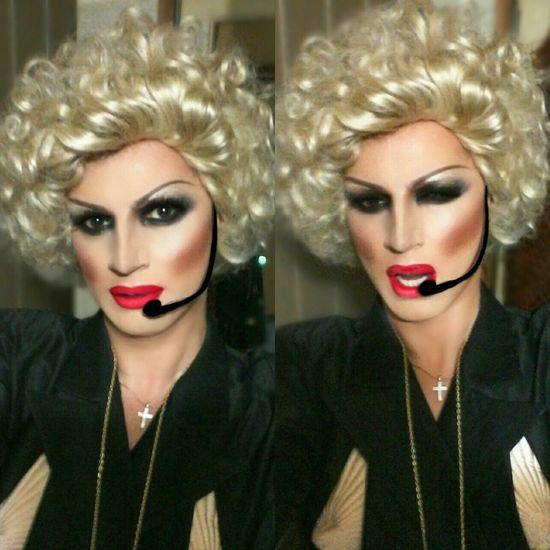 Madonna Popular Dragqueen  Selfie www.crystalshow.com.ua