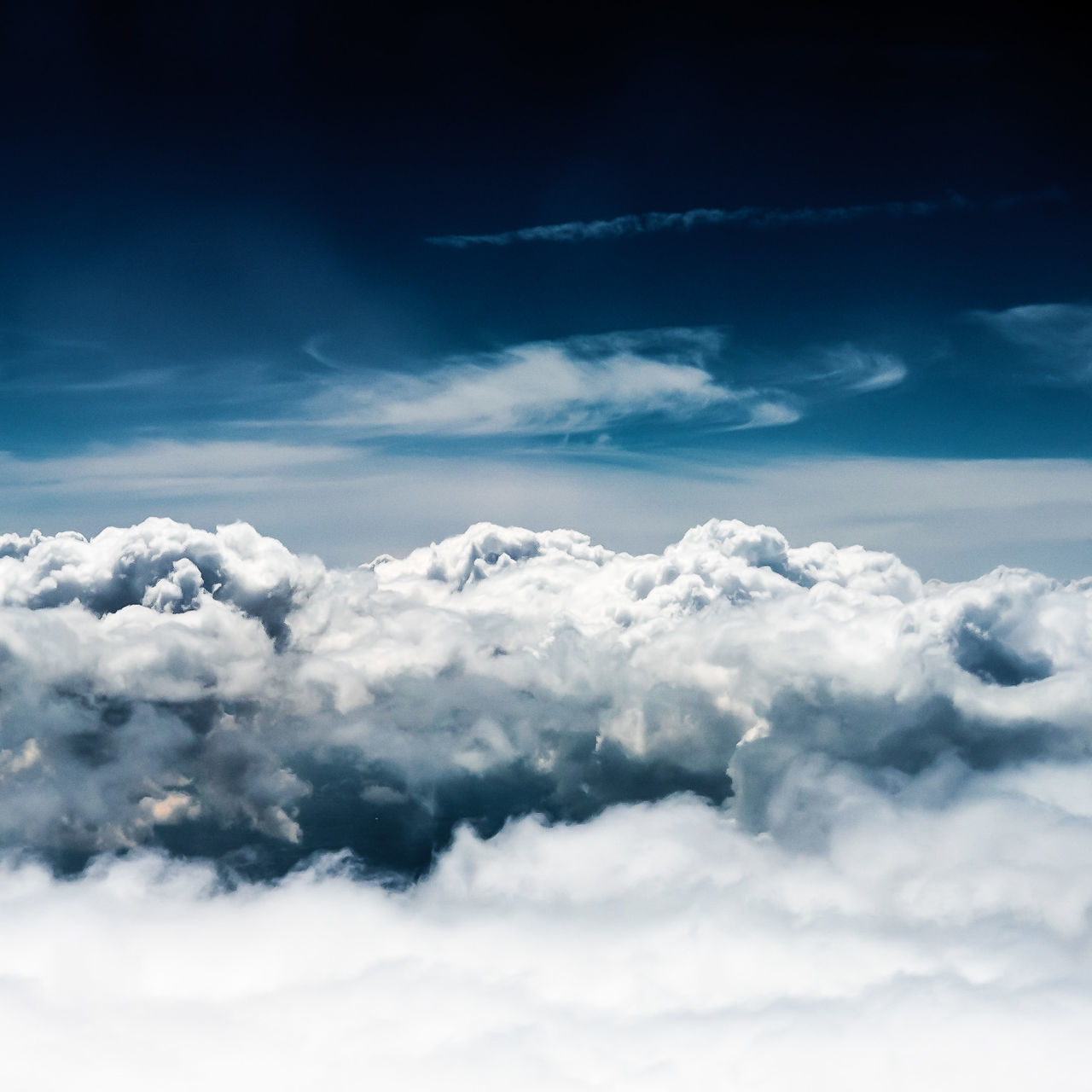 Atmospheric Mood Backgrounds Beauty In Nature Blue Cloud - Sky Cloudscape Day Dramatic Sky Dreamlike Ethereal Full Frame Heaven Majestic Nature No People Outdoors Scenics Sky Sky Only Softness The Natural World Tranquil Scene Tranquility White Color