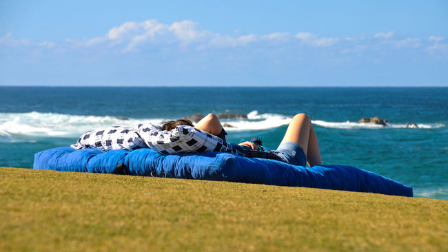 Bed with ocean view Australia Beach Cabarita Beach Carefree Landscape #Nature #photography Landscape_Collection Landscape_photography Leisure Activity Life Life Is A Beach Lifestyles Nature Nature Photography Nature_collection Naturelovers New South Wales  Nikon Ocean Ocean View Relaxation Relaxing Sea Seascape Vacations