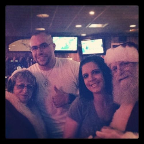 Alehouse Mr &Mrs ThemNOTus Theclauses hohoho christmas2013