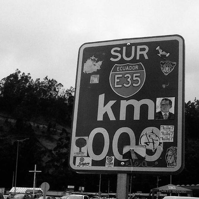Şūr Ustedno Nuestronorteeselsur Rumichaca Ecuador Road