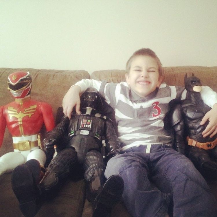 """""""Take a picture of us, ready?"""" Noah Brother Lovethatface GiantActionFigures"""
