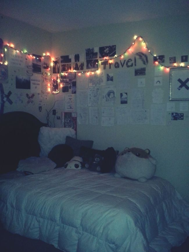 My Bedroom Tumblr Tumblr Room Fairy Lights
