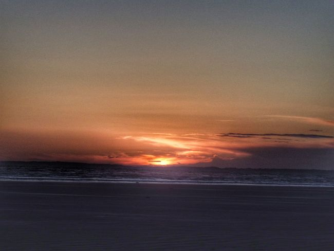 Wales Photography Taking Photos Check This Out Fire In The Sky Sunset Landscape Beach Outdoors