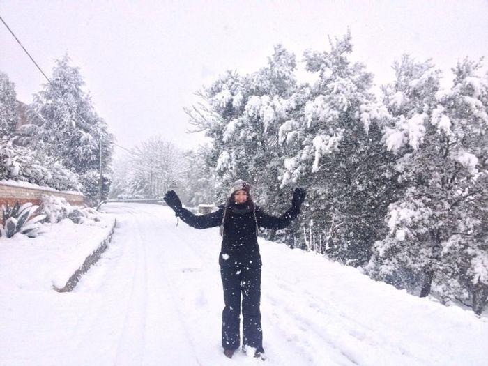 Qualche mese fa... Snow Winter White By CanvasPop Happy Nature