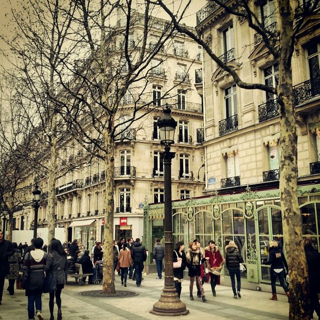 Shopping Paris